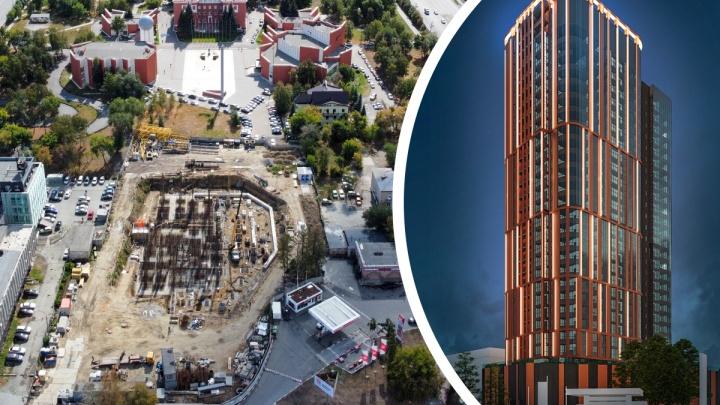 На Алом Поле строят второй небоскреб. Рассказываем, кто за этим стоит и когда сдадут высотку