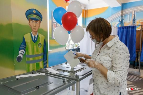 Первый день голосования прошел в Волгограде достаточно спокойно