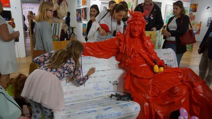 В Самаре установят скульптуру Бабы-яги