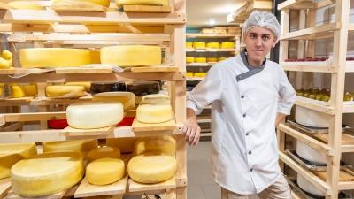 «Варю с первого курса»: как студент из Новочеркасска открыл собственную сыроварню