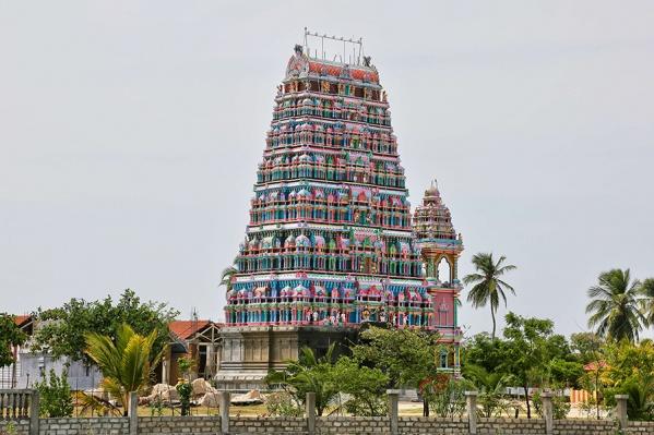 Храм Кандасвами на Шри-Ланке