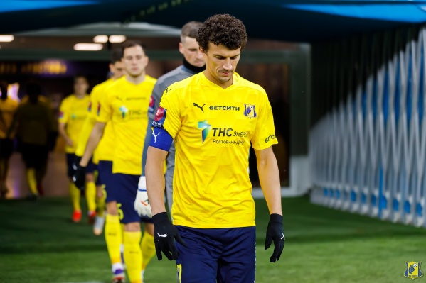 В матче против «Ахмата» Ерёменко попросил замену в конце первого тайма