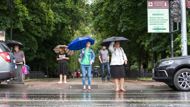 Гроза со шквалистым ветром идет на Ростов. В области штормовое предупреждение