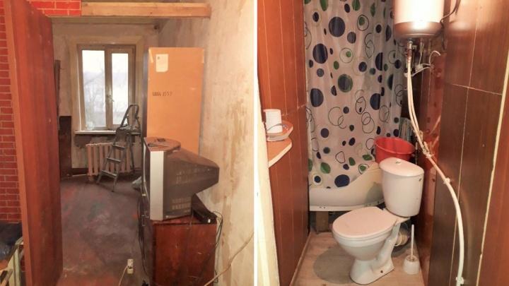 Стали бы тут жить? За сколько в Архангельске можно купить дешевую комнату