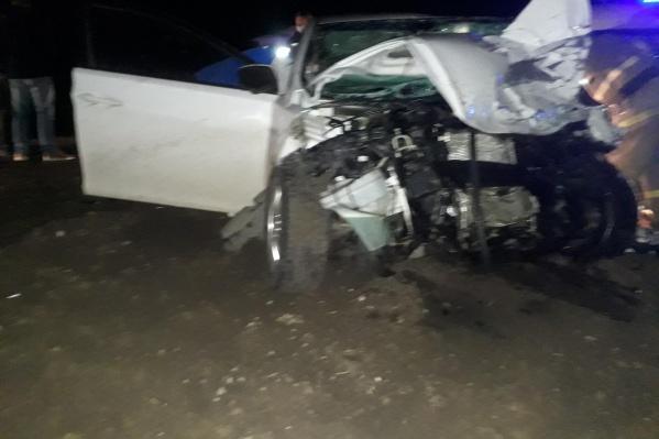 У мужчины, который был за рулем иномарки, был 8-летний стаж вождения