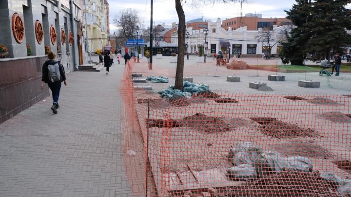 На Кировку вернут летник ресторана, демонтированный во время зачистки улицы от павильонов