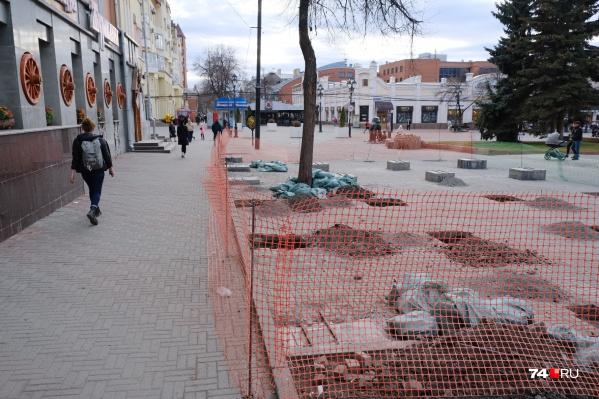 Работы возле «Журавлины» планируют завершить к середине лета