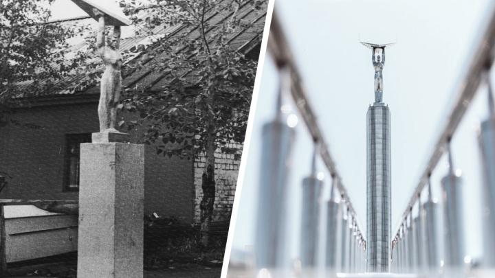 Сбросились по рублю и собирали по частям: как строили монумент Славы в Куйбышеве