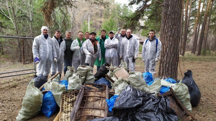Девелопер на субботнике: как «Весна» собирала мусор и чистила карьер
