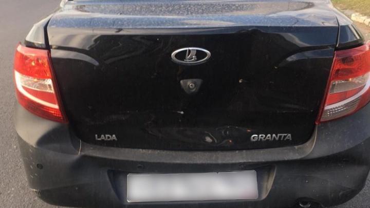 Двухлетний ребенок пострадал после столкновения двух машин