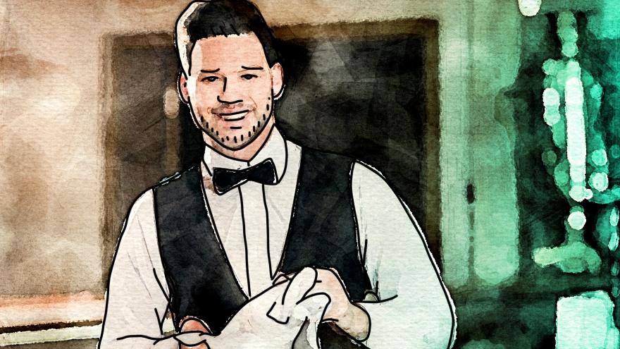 «Что меня бесит»: официант — о гостях, которые бросают в еду мух, уносят вилки и освежители из туалета