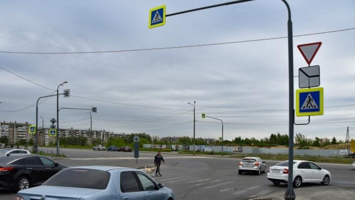 В Челябинске на проблемном перекрестке поставили светофор