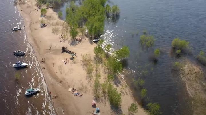 Мэрию Самары попросили сделать пляжи в запрещенных для купания местах