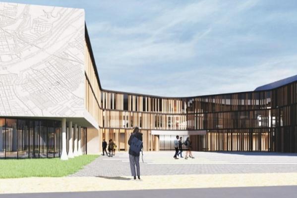 Кампус планируется расположить в уфимском районе Дёма