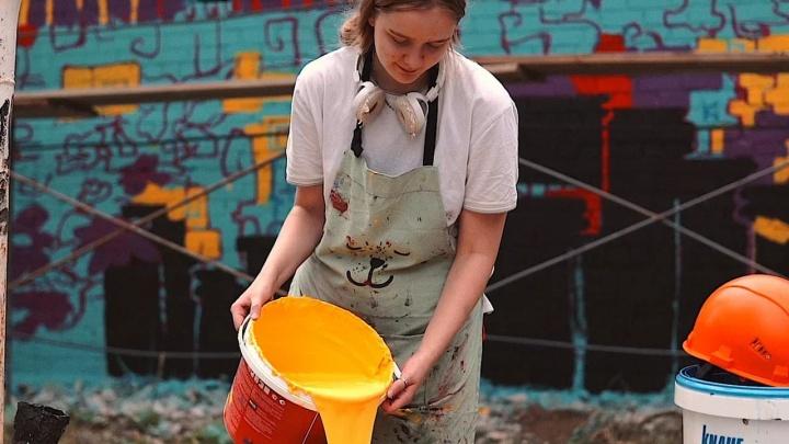 Прикамская художница участвует в фестивале стрит-арта. Сейчас проходит народное голосование