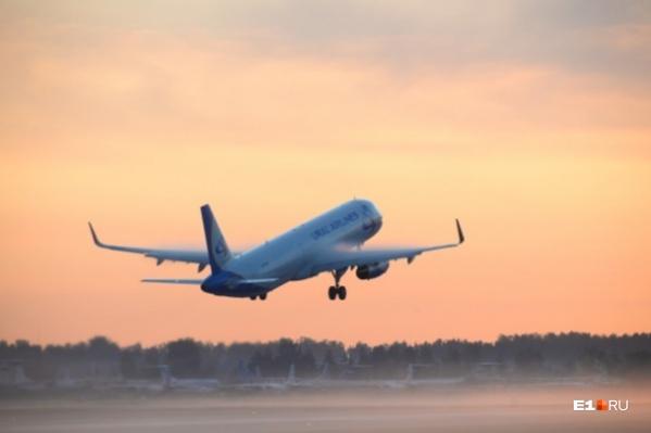 Первый в этом году самолет из Челябинска в Симферополь вылетит 29 марта