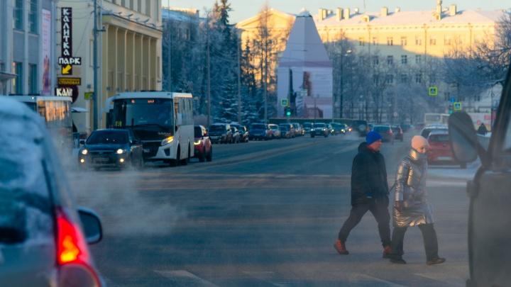 Архангельские перевозчики пожаловались, что автобусы ломаются на морозе и снимаются с маршрутов
