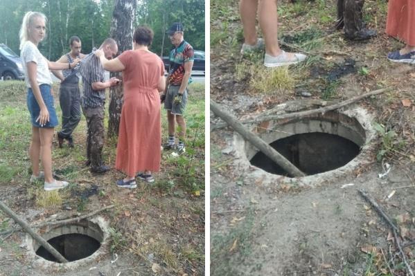 Ярославца вытащили проходившие мимо люди