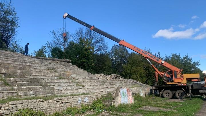«Выбор пал на эту территорию»: что построят на месте стадиона «Красный Перекоп» в Ярославле
