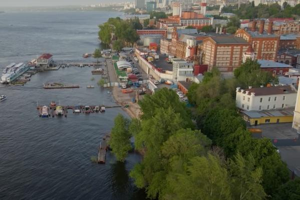 Новая набережная пройдет от Вилоновского спуска до бассейна ЦСК ВВС — вдоль пивзавода и ГРЭС