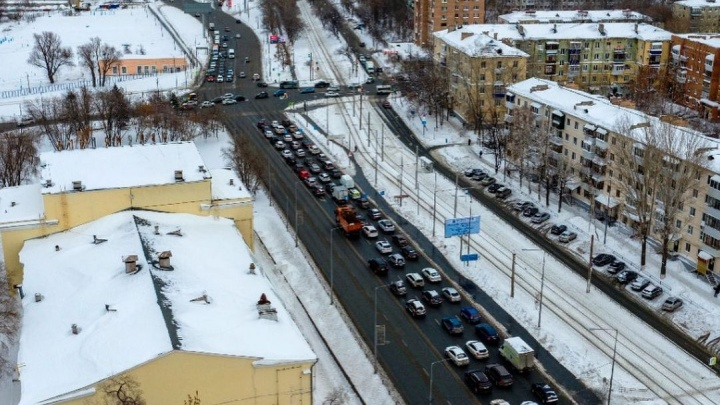 Названы сроки начала строительства эстакады на Ново-Садовой в Самаре