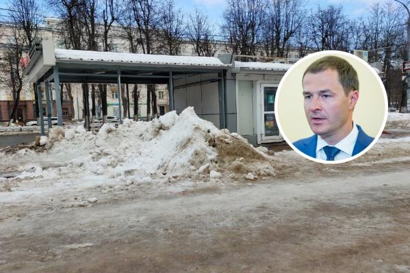 Уборку Ярославля этой зимой областные депутаты признали неудовлетворительной