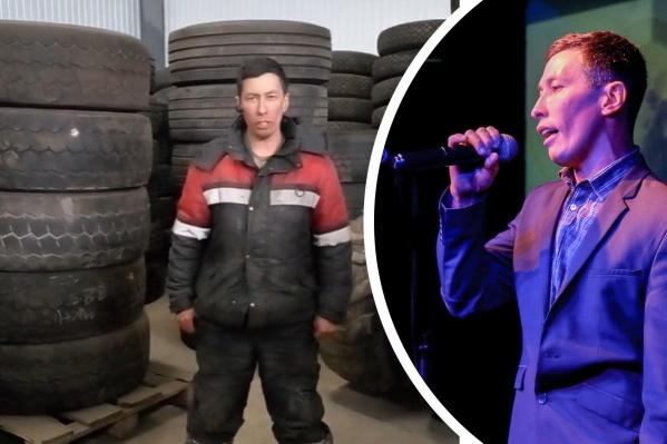 На этой неделе Альберт Галимов спел в ночном клубе свой фирменный «Оренбургский пуховый платок», а затем — песню на родном татарском языке