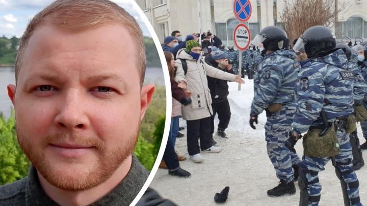 Полиция требует с еще одного сторонника Навального в Ярославле полмиллиона за свою работу на митингах