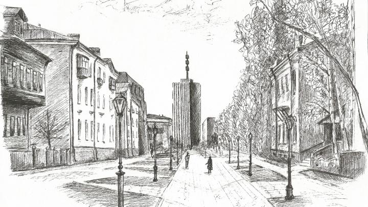 Штрихи к портрету города: гуляем по Архангельску, каким его видит художница-самоучка