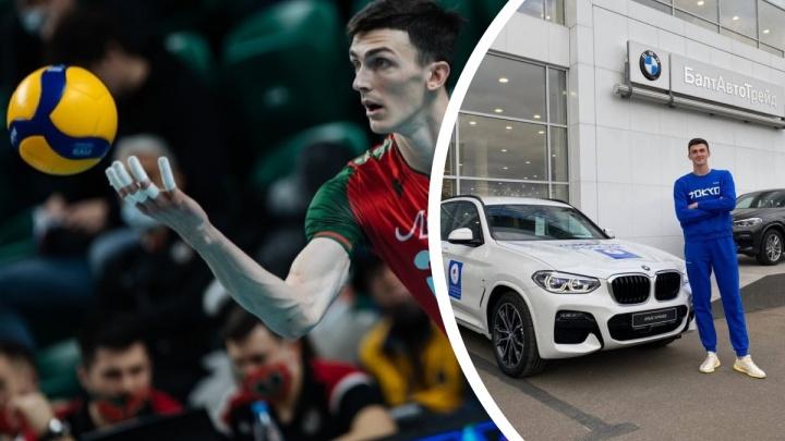 Новосибирский призер Олимпийских игр в Токио показал фото подаренного BMW