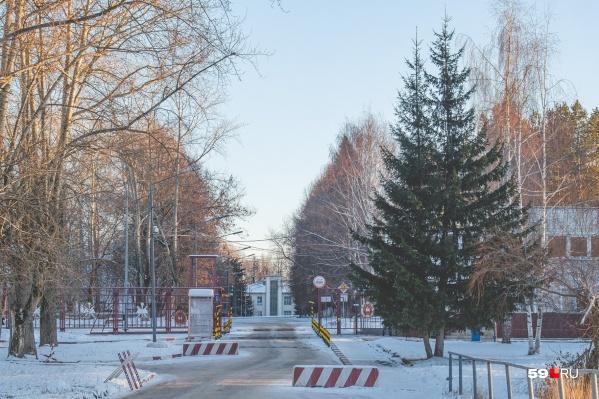 Склад хотят построить на закрытой территории института ГУФСИН