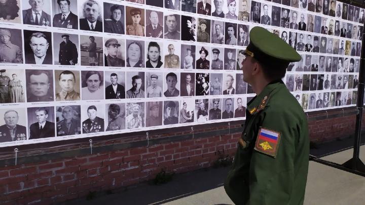 В Челябинске возродят проект «Стена памяти». В этом году фронтовые истории там заговорят