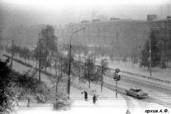 Так выглядела Уфа17 мая 1981 года