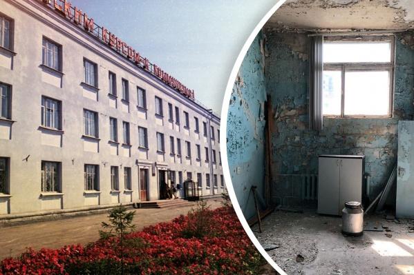 Часть зданий на территории завода пустует, остальные сдаются в аренду