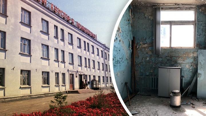 В Тюмени продают завод медоборудования. Показываем, что внутри пустующих зданий