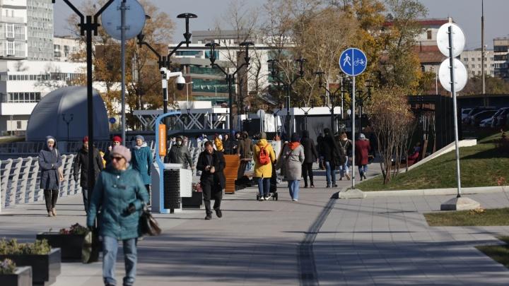 Челябинский архитектор снял в формате 360° видеоэкскурсию по новой набережной в центре города