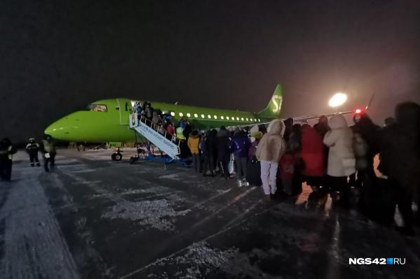 Самолеты из Кемерово летают в том числе в соседние регионы