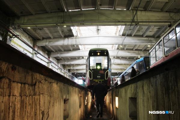 Нового трамвайного депо в ближайшие годы в Омске не будет