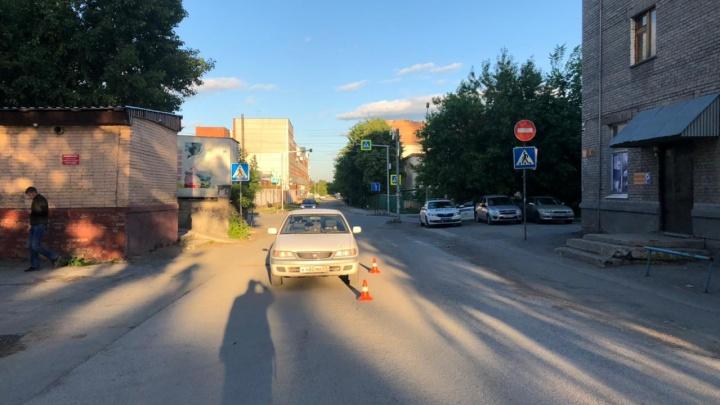 13-летнюю девочку на велосипеде сбили в Октябрьском районе