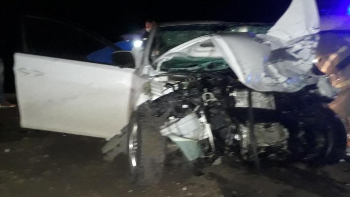 Лоб в лоб: под Самарой водитель Hyundai Elantra разбился насмерть о фуру