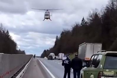 ДТП произошло на Ярославском шоссе