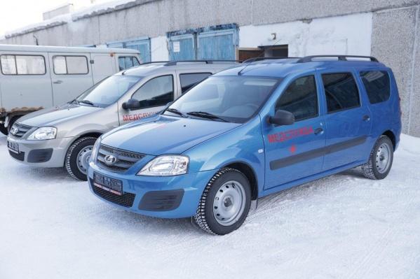 Машины уже поступили в распоряжение центральной районной больницы Алапаевска