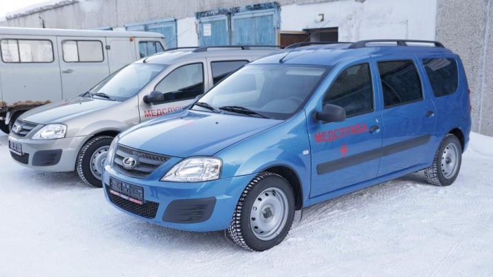 Уральские меценаты купили автомобили для больницы взамен старых УАЗов с пробегом 1,3 миллиона километров