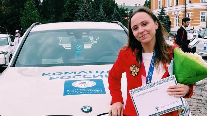 Кузбасская спортсменка получила в подарок BMW за серебро на Олимпиаде