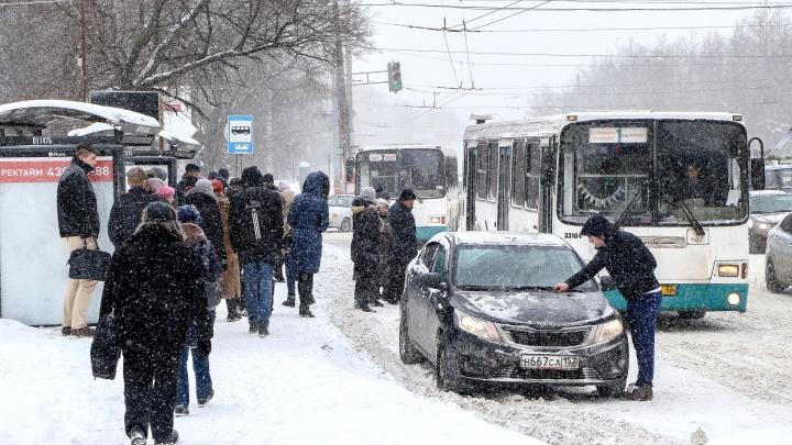 Завтра на Нижегородскую область обрушатся снегопад и метель