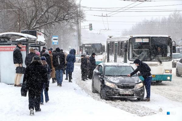 Нижний Новгород завалит снегом