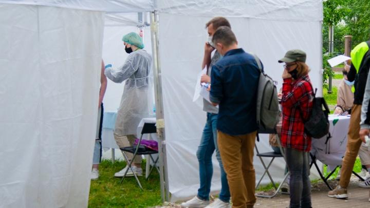В каких мобильных пунктах Архангельской области можно сделать прививку на выходных 4–5 сентября