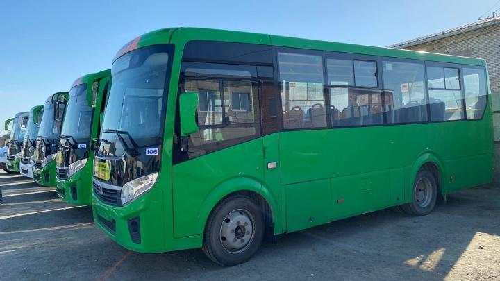 «Хотелось бы обновить весь автопарк»: в Кургане на маршрутах заменят 50 автобусов