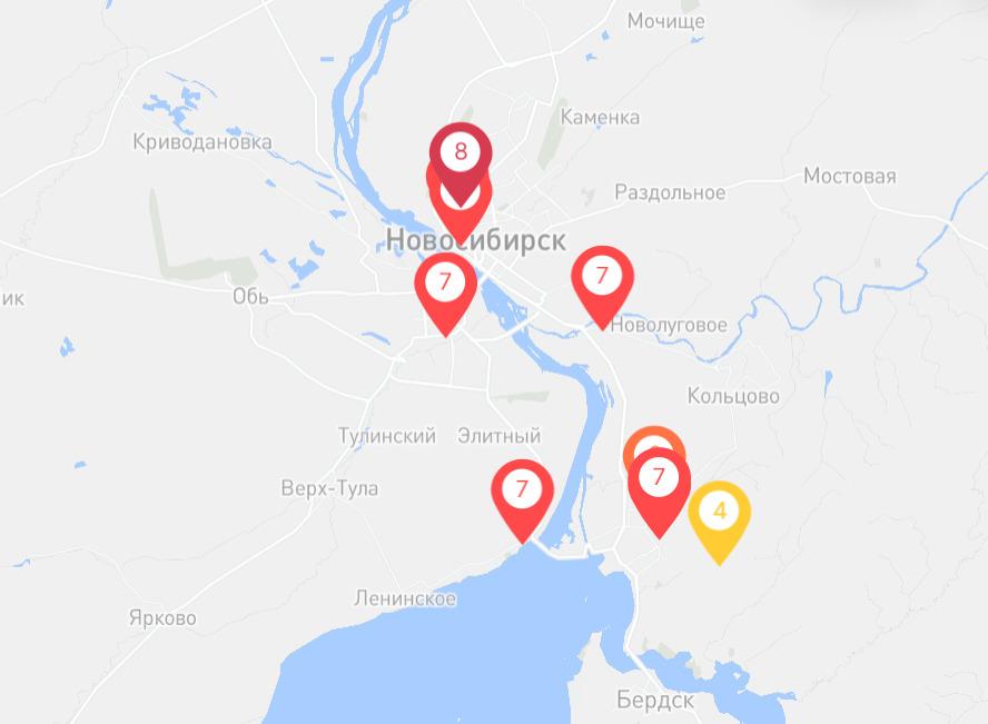 Сейчас качество воздуха в Заельцовском районе оценивается в 8 баллов