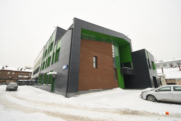 Здание фондохранилища «Эрмитаж-Урала» будет закрыто от людей, но рядом устроят открытый лекторий